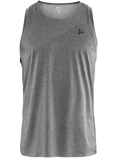 Craft Nanoweight Koszulka do biegania bez rękawów Mężczyźni szary
